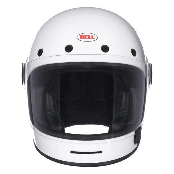 bell-bullitt-culture-helmet-gloss-white-front-BELL BULLITT DLX SOLID WHITE
