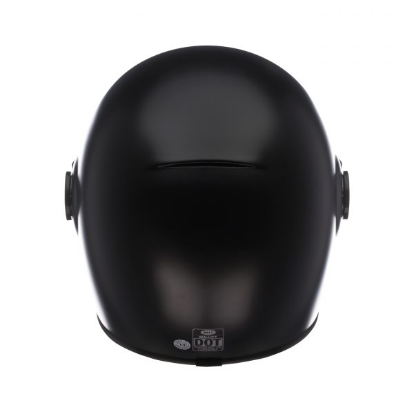 bell-bullitt-dlx-ece-culture-helmet-matte-black-back-BELL BULLITT DLX SOLID MATT BLACK