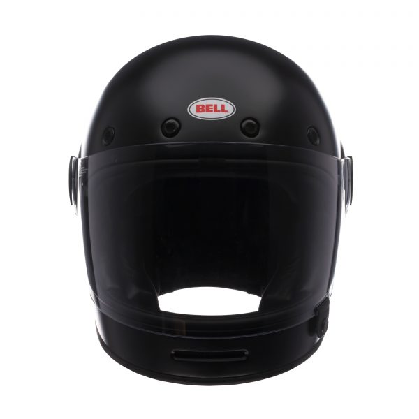 bell-bullitt-dlx-ece-culture-helmet-matte-black-front-BELL BULLITT DLX SOLID MATT BLACK