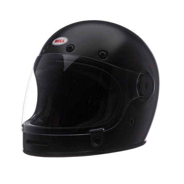 bell-bullitt-dlx-ece-culture-helmet-matte-black-front-left-BELL BULLITT DLX SOLID MATT BLACK