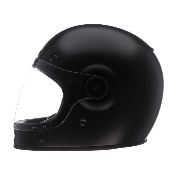 bell-bullitt-dlx-ece-culture-helmet-matte-black-left-BELL BULLITT DLX SOLID MATT BLACK