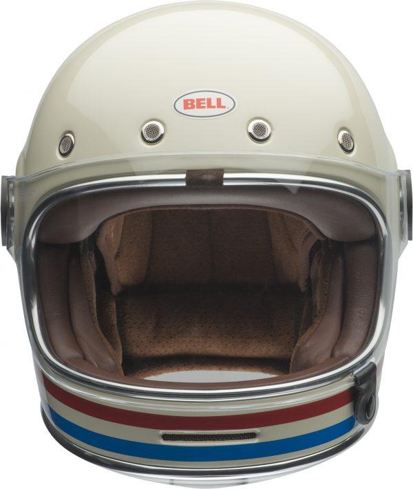bell-bullitt-dlx-ece-culture-helmet-stripes-gloss-pearl-white-front-BELL BULLITT DLX STRIPES PEARL WHITE