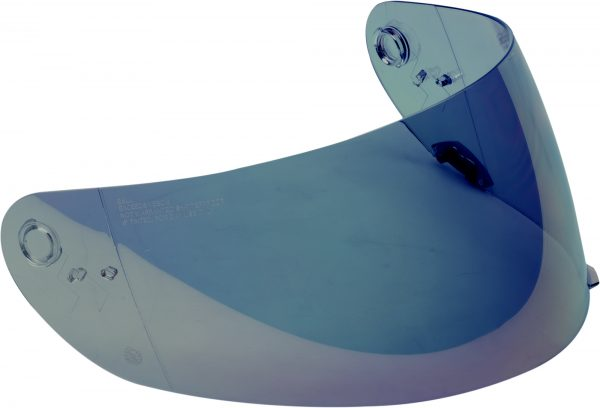 bell-click-release-shield-spare-part-light-blue-iridium-front-right-BELL CLICK RELEASE SHIELD VISOR VARIOUS COLOURS – Clear