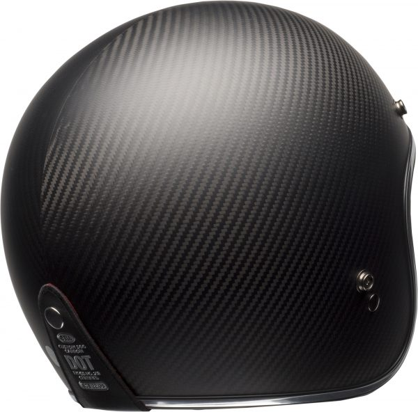bell-custom-500-carbon-culture-helmet-matte-black-carbon-back-right-BELL CRUISER CUSTOM 500 BLANK GLOSS BLACK STD
