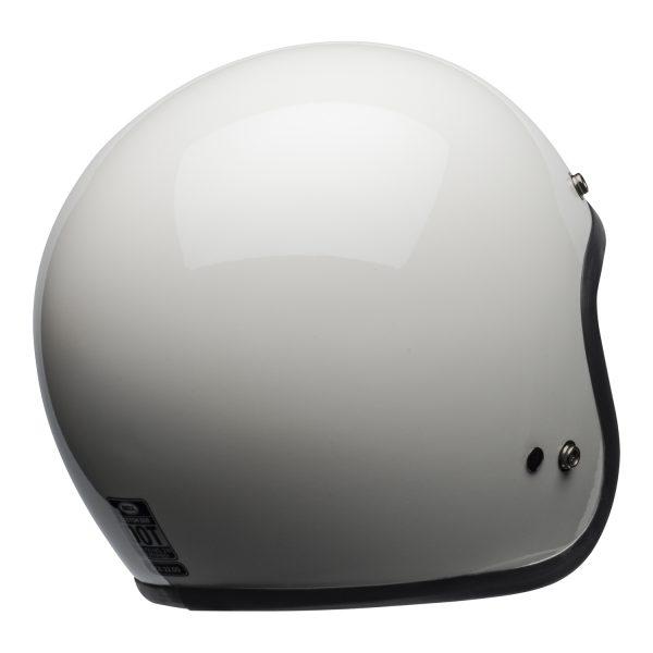 bell-custom-500-culture-helmet-gloss-vintage-white-back-right-BELL CRUISER CUSTOM 500 BLANK GLOSS BLACK STD