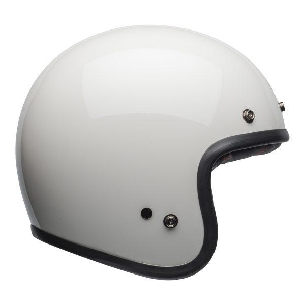 bell-custom-500-culture-helmet-gloss-vintage-white-right-BELL CRUISER CUSTOM 500 BLANK GLOSS BLACK STD