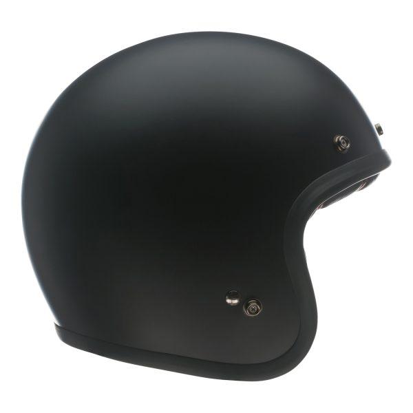 bell-custom-500-culture-helmet-matte-black-right-BELL CRUISER CUSTOM 500 BLANK GLOSS BLACK STD
