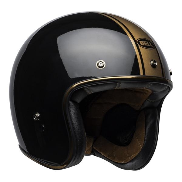 bell-custom-500-culture-helmet-rally-gloss-black-bronze-front-right__98828.1558521939.jpg-Bell Cruiser 2021 Custom 500 DLX Adult Helmet (Rally Black/Bronze)