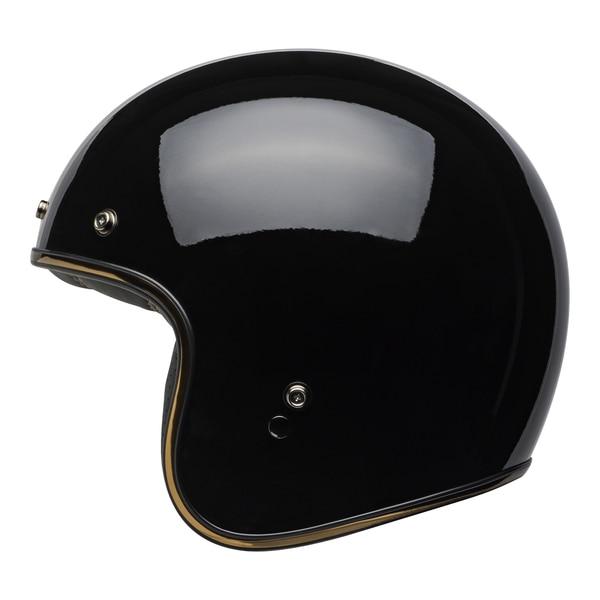 bell-custom-500-culture-helmet-rally-gloss-black-bronze-left__49951.1558521939.jpg-Bell Cruiser 2021 Custom 500 DLX Adult Helmet (Rally Black/Bronze)