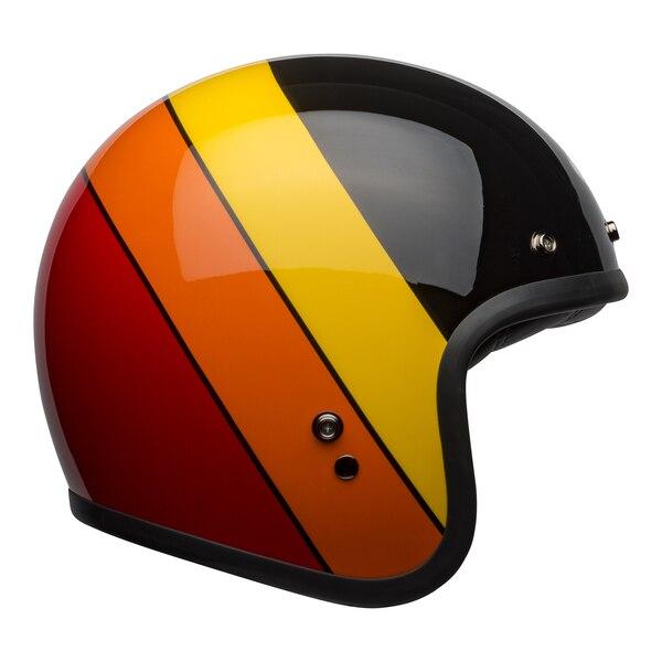 bell-custom-500-culture-helmet-riff-gloss-black-yellow-orange-red-right__58661.1601551606.jpg-Bell Crusier 2021 Custom 500 DLX Adult Helmet (RIF Black/Yellow/Orange/Red)
