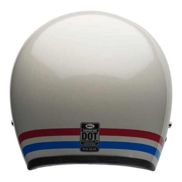 bell-custom-500-culture-helmet-stripes-pearl-b-BELL CRUISER CUSTOM 500 BLANK GLOSS BLACK STD