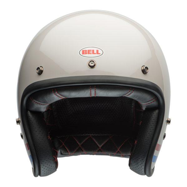 bell-custom-500-culture-helmet-stripes-pearl-f-BELL CRUISER CUSTOM 500 BLANK GLOSS BLACK STD