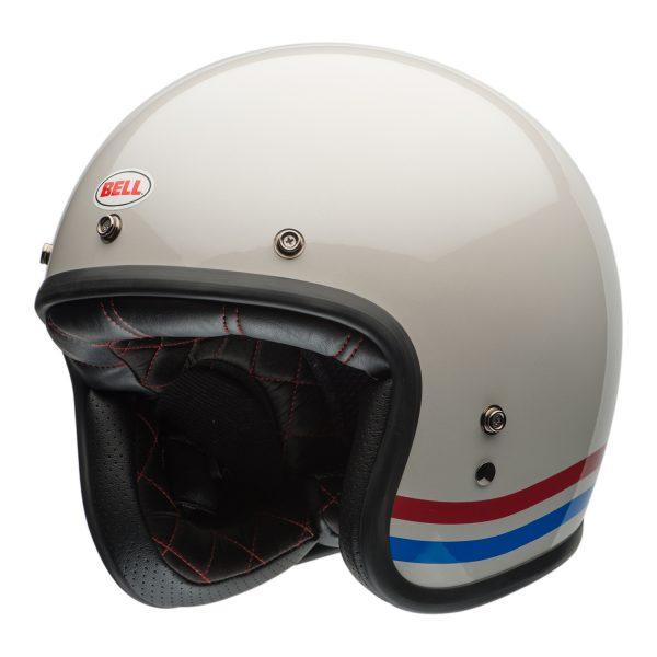 bell-custom-500-culture-helmet-stripes-pearl-fl-BELL CRUISER CUSTOM 500 BLANK GLOSS BLACK STD