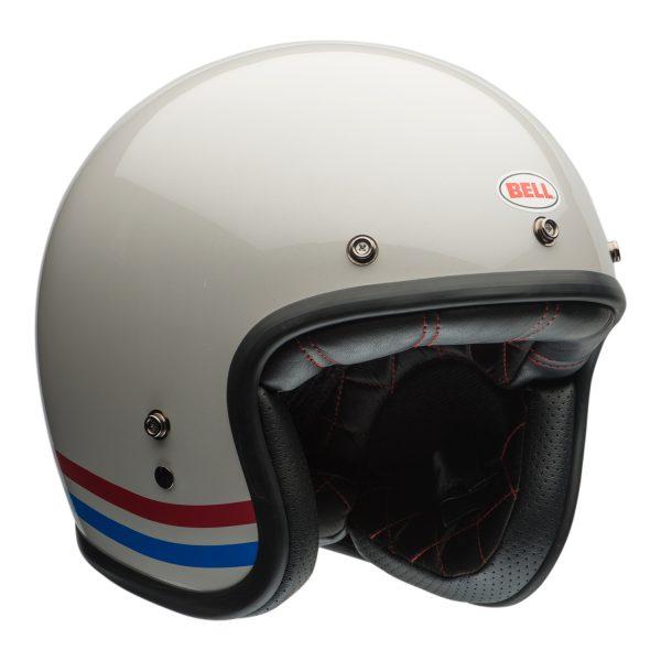 bell-custom-500-culture-helmet-stripes-pearl-fr-BELL CRUISER CUSTOM 500 BLANK GLOSS BLACK STD