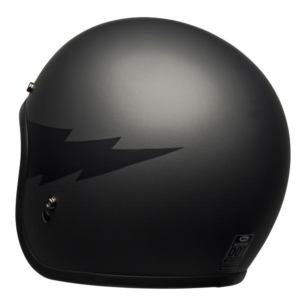 bell-custom-500-culture-helmet-thunderclap-matte-gray-black-back-left__13193.1601551834.jpg-BELL CRUISER CUSTOM 500 DLX THUNDERCLAP MATT GREY BLACK