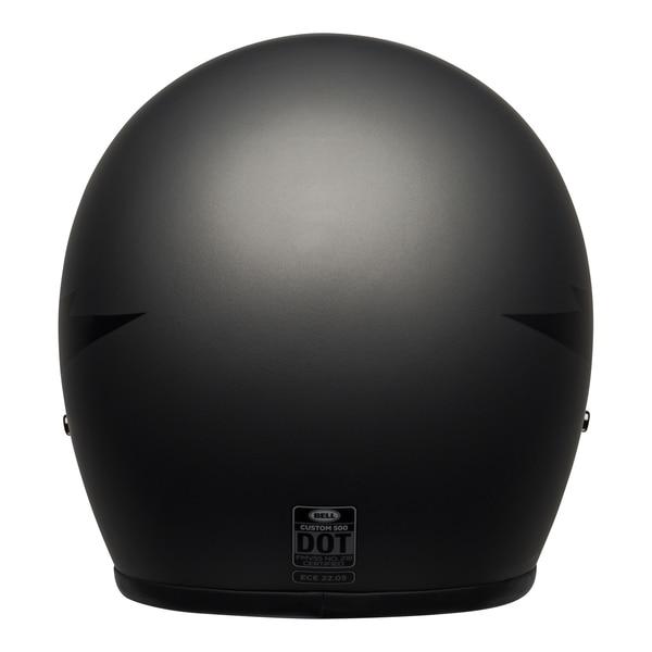 bell-custom-500-culture-helmet-thunderclap-matte-gray-black-back__89883.1601551833.jpg-BELL CRUISER CUSTOM 500 DLX THUNDERCLAP MATT GREY BLACK
