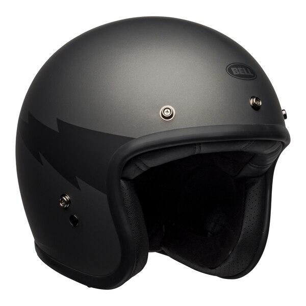 bell-custom-500-culture-helmet-thunderclap-matte-gray-black-front-right__90188.1601551834.jpg-BELL CRUISER CUSTOM 500 DLX THUNDERCLAP MATT GREY BLACK