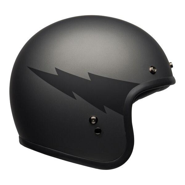 bell-custom-500-culture-helmet-thunderclap-matte-gray-black-right__85673.1601551834.jpg-Bell Crusier 2021 Custom 500 DLX Adult Helmet (Thunderclap Matte Grey/Black)