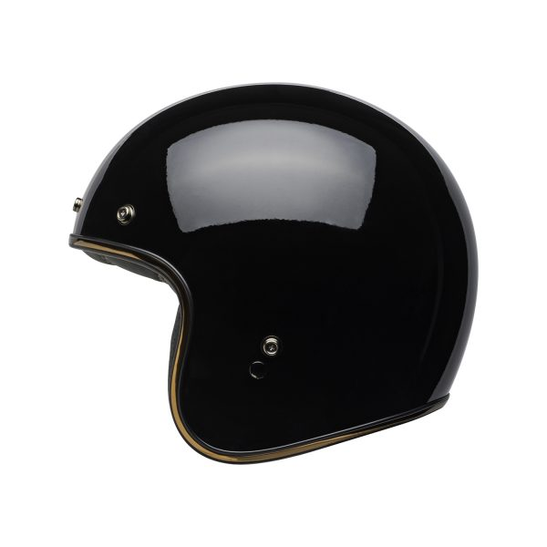 bell-custom-500-dlx-culture-helmet-rally-gloss-black-bronze-left-BELL CRUISER CUSTOM 500 BLANK GLOSS BLACK STD