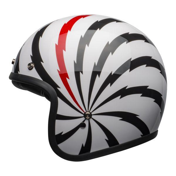 bell-custom-500-se-culture-helmet-vertigo-gloss-white-black-red-left-BELL CRUISER CUSTOM 500 BLANK GLOSS BLACK STD