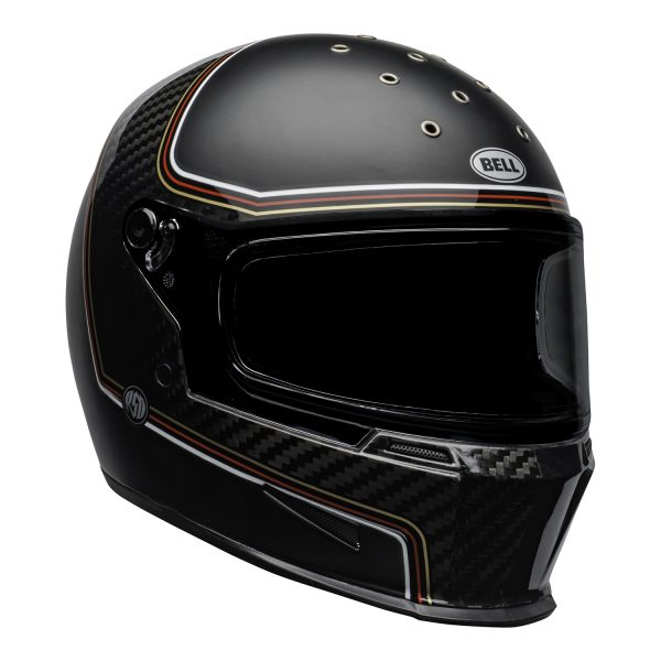 bell-eliminator-carbon-culture-helmet-rsd-the-charge-matte-gloss-black-front-right.jpg-BELL ELIMINATOR CARBON RSD THE CHARGE MATT/GLOSS BLACK