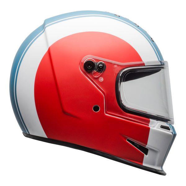 bell-eliminator-culture-helmet-slayer-matte-white-red-blue-clear-shield-right.jpg-Bell 2021 Cruiser Eliminator Adult Helmet (Slayer White/Red/Blue)