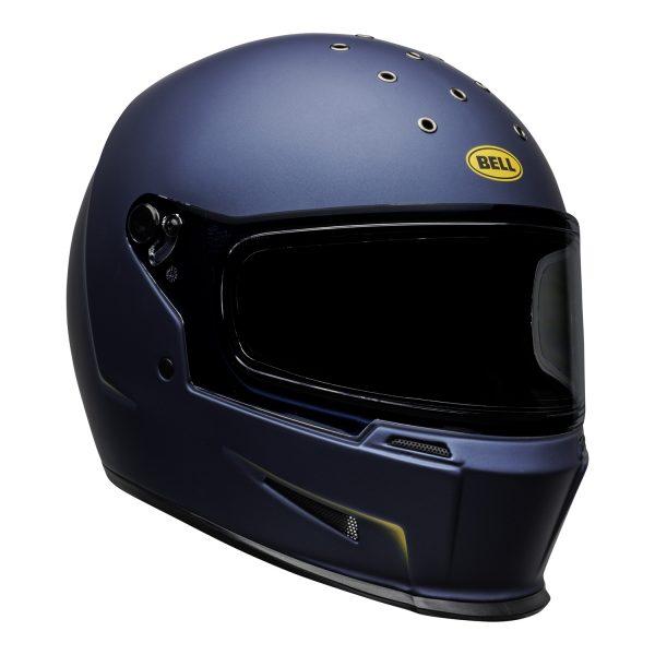 bell-eliminator-culture-helmet-vanish-matte-blue-yellow-front-right.jpg-Bell 2021 Cruiser Eliminator Adult Helmet (Vanish Matte Blue/Yellow)
