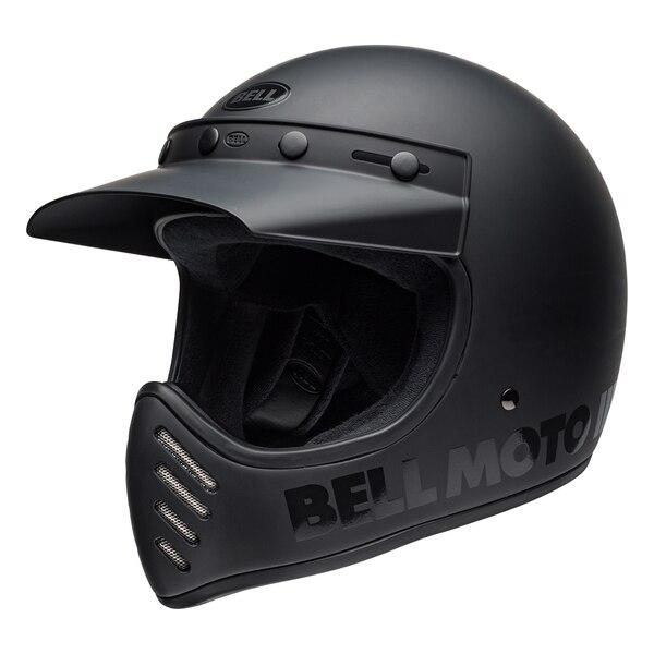 bell-moto-3-culture-helmet-classic-matte-gloss-blackout-front-left__62366.1538470941.jpg-BELL MOTO-3 CLASSIC BLACKOUT MATT / GLOSS BLACK