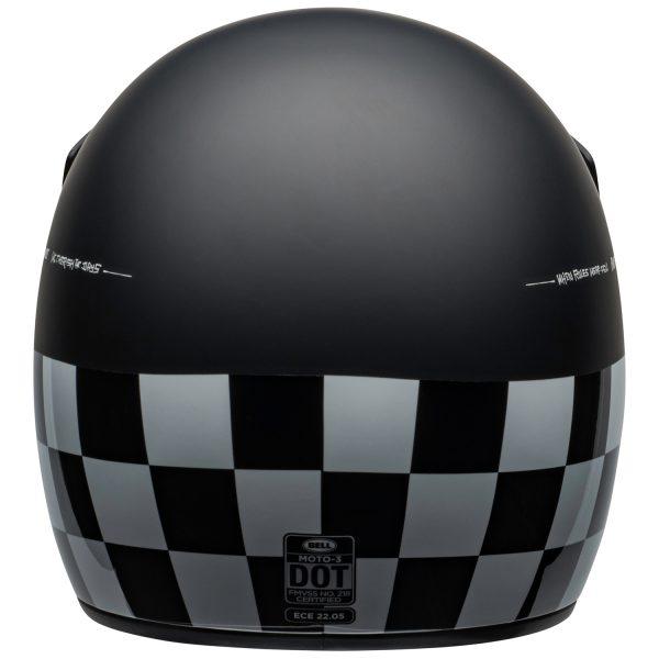 bell-moto-3-culture-helmet-fasthouse-checkers-matte-gloss-black-white-red-back-BELL MOTO-3 CLASSIC BLACK