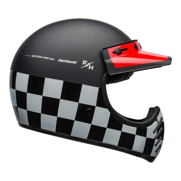 bell-moto-3-culture-helmet-fasthouse-checkers-matte-gloss-black-white-red-right.jpg-Bell 2021 Cruiser Moto 3 Adult Helmet (Fasthouse Checkers M/G Black/White/Red)