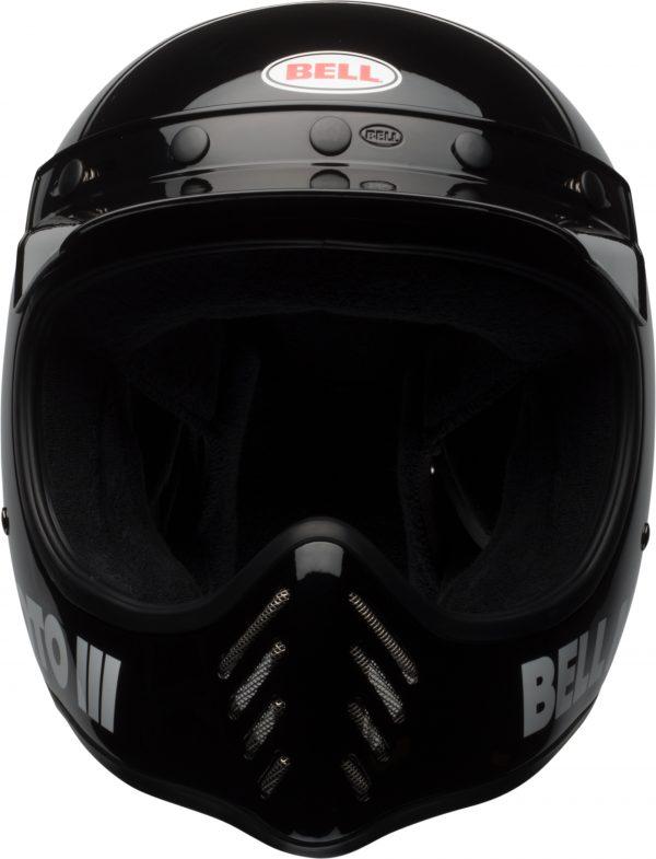 bell-moto-3-culture-helmet-gloss-black-classic-front-BELL MOTO-3 CLASSIC BLACK