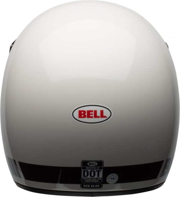 bell-moto-3-culture-helmet-gloss-white-classic-back-BELL MOTO-3 CLASSIC BLACK