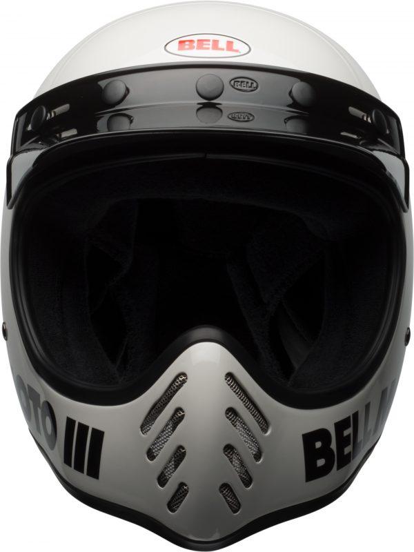 bell-moto-3-culture-helmet-gloss-white-classic-front-BELL MOTO-3 CLASSIC BLACK