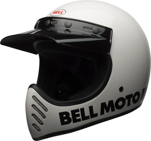 bell-moto-3-culture-helmet-gloss-white-classic-front-left-BELL MOTO-3 CLASSIC BLACK