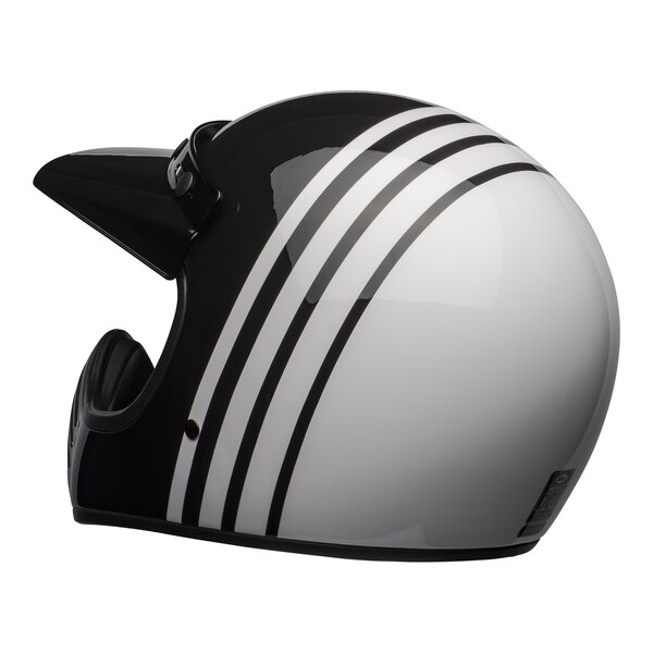 bell-moto-3-culture-helmet-reverb-gloss-white-black-back-left__93267.1601552301.jpg-Bell Cruiser 2021 Moto 3 Adult Helmet (Reverb White/Black)