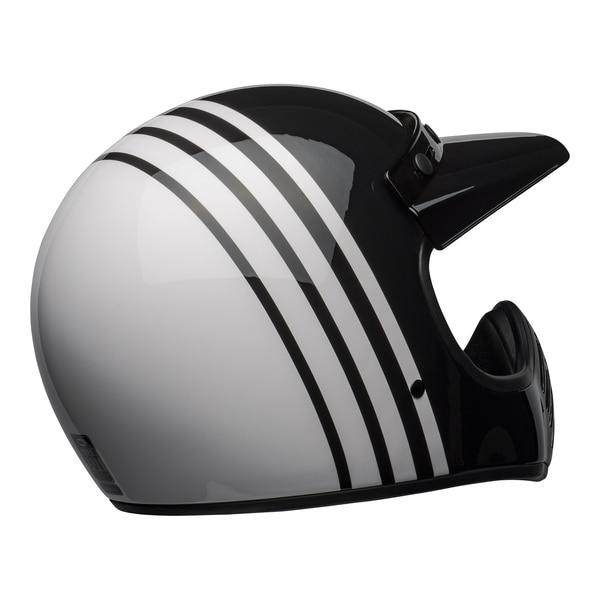 bell-moto-3-culture-helmet-reverb-gloss-white-black-back-right__65155.1601552301.jpg-Bell Cruiser 2021 Moto 3 Adult Helmet (Reverb White/Black)