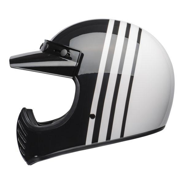 bell-moto-3-culture-helmet-reverb-gloss-white-black-left-BELL MOTO-3 CLASSIC BLACK