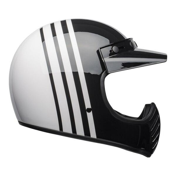 bell-moto-3-culture-helmet-reverb-gloss-white-black-right__44127.1601552301.jpg-Bell Cruiser 2021 Moto 3 Adult Helmet (Reverb White/Black)