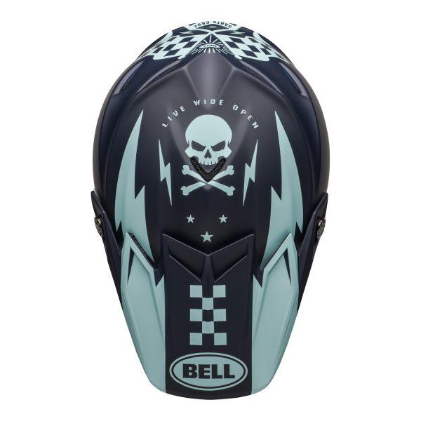 bell-moto-9-flex-dirt-helmet-breakaway-matte-dark-blue-light-blue-top__33813.jpg-Bell MX 2021 Moto-9 Flex Adult Helmet (Breakaway Matte Navy/Light Blue)