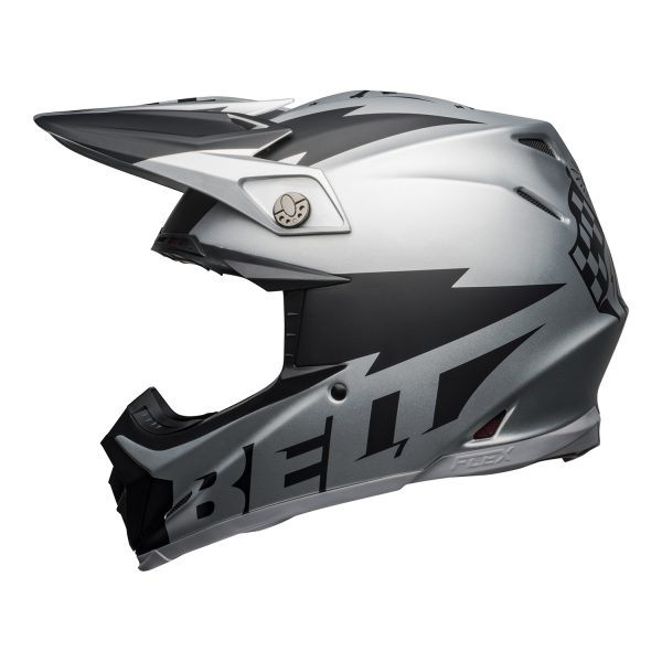 bell-moto-9-flex-dirt-helmet-breakaway-matte-silver-black-left__78930.jpg-Bell MX 2021 Moto-9 Flex Adult Helmet (Breakaway Matte Silver/Black)
