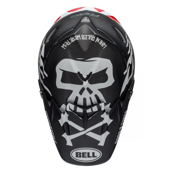 bell-moto-9-flex-dirt-helmet-fasthouse-wrwf-gloss-black-white-red-top__81199.jpg-Bell MX 2021 Moto-9 Flex Adult Helmet (Fasthouse WRWF Black/White/Red)