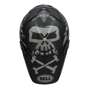 Bell MX 2021 Moto-9 Flex Adult Helmet (FastHouse WRWF M/G Black/White/Gray)