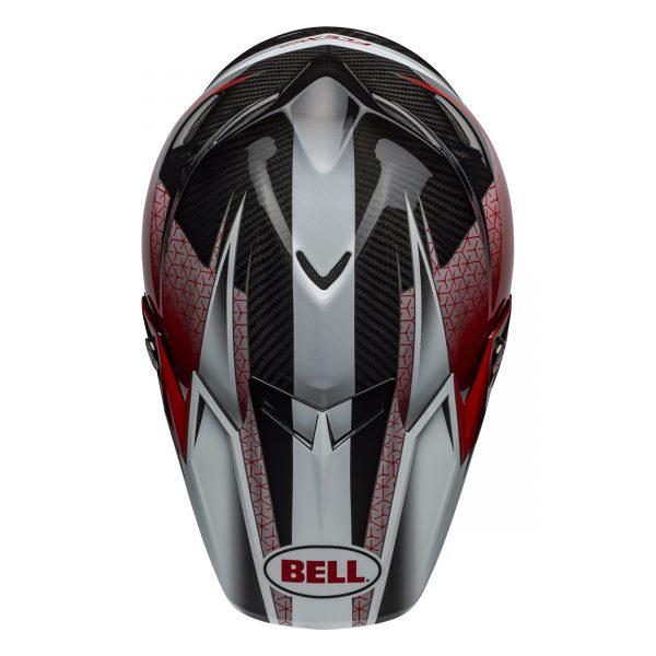 bell-moto-9-flex-dirt-helmet-hound-matte-gloss-red-white-black-top__52896.jpg-Bell MX 2021 Moto-9 Flex Adult Helmet (Hound Red/White/Black)