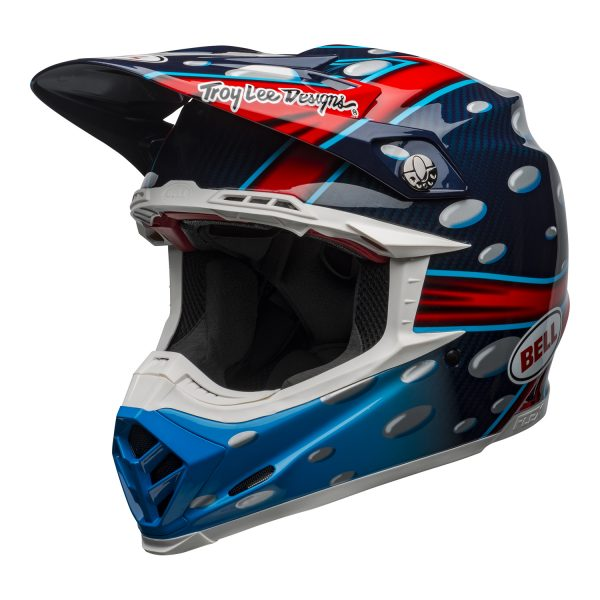 bell-moto-9-flex-dirt-helmet-mcgrath-replica-gloss-blue-red-black-front-left__58718.jpg-Bell MX 2021 Moto-9 Flex Adult Helmet (McGrath Replica Gloss Blue)