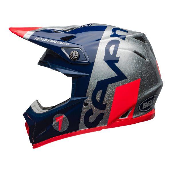 bell-moto-9-flex-dirt-helmet-seven-galaxy-matte-gloss-navy-silver-left.jpg-Seven MX 2021 Moto-9 Flex Adult Helmet (Galaxy M/G Navy/Silver)
