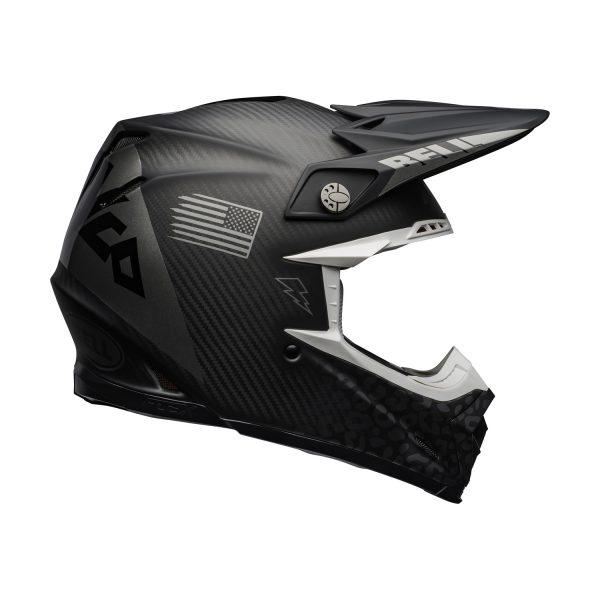 bell-moto-9-flex-dirt-helmet-slayco-matte-gloss-gray-black-right__88847.jpg-Bell MX 2021 Moto-9 Flex Adult Helmet (Slayco M/G Black/Grey)