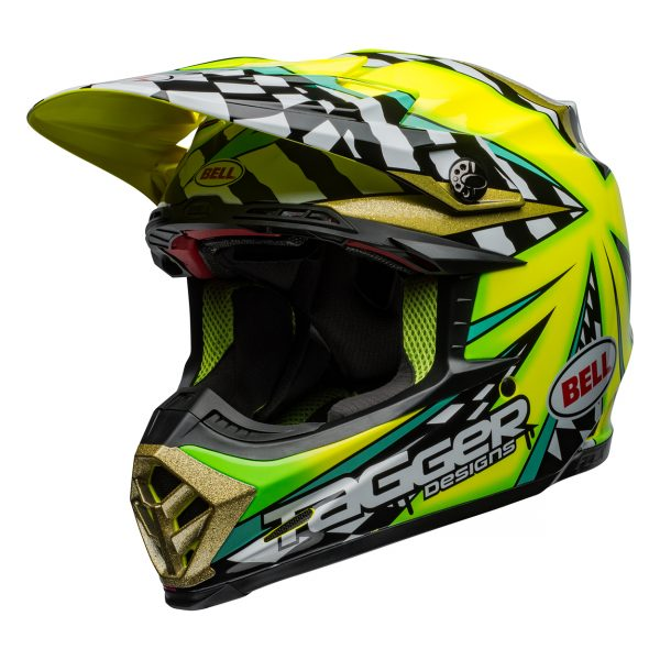 bell-moto-9-flex-dirt-helmet-tagger-mayhem-gloss-green-black-white-front-left__23314.jpg-Bell MX 2021 Moto-9 Flex Adult Helmet (Tagger Mayhem Green/Black/White)