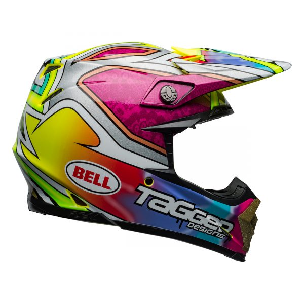 bell-moto-9-flex-dirt-helmet-tagger-mayhem-gloss-green-black-white-right__80185.jpg-Bell MX 2021 Moto-9 Flex Adult Helmet (Tagger Mayhem Green/Black/White)