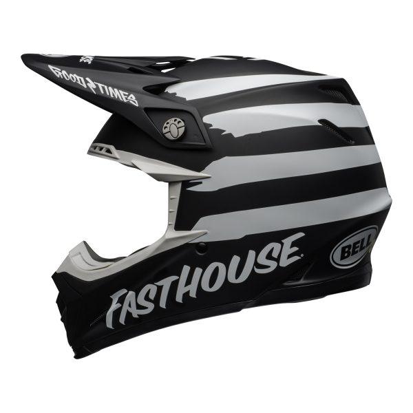 bell-moto-9-mips-dirt-helmet-fasthouse-signia-matte-black-white-left.jpg-Bell MX 2021 Moto-9 Mips Adult Helmet (Fasthouse Signia Black/White)