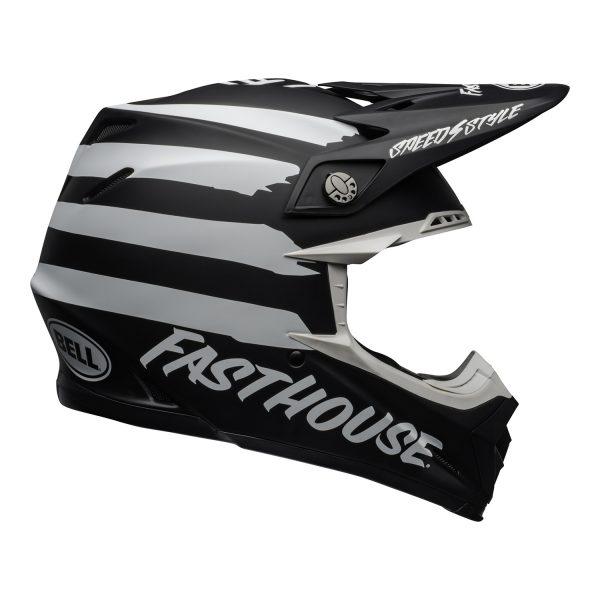 bell-moto-9-mips-dirt-helmet-fasthouse-signia-matte-black-white-right.jpg-Bell MX 2021 Moto-9 Mips Adult Helmet (Fasthouse Signia Black/White)